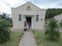 Templo da primeira igreja adventista organizada no Brasil