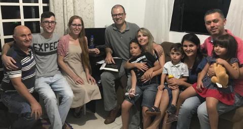 Família Nascimento: um milagre de Deus