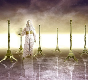 jesus lampstands